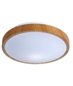 Picture of White / Replica Wood Trim LED Oyster (OYS/CLA) CLA Lighting