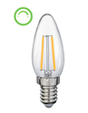 Picture of Filament 4W LED Dimmable Candle Lamp