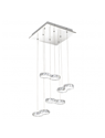 Picture of Corliano LED 8 Light Square Crystal Pendant (39013) Eglo Lighting