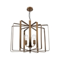 Picture of Zanza 3 Light Pendant (MP4823) Mercator Lighting