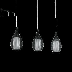 Picture of Razoni 3 Lights Pendant (94388, 94389) Eglo Lighting