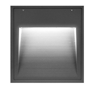 Picture of Ostro Square Recessed 19w LED Wall Light (CBL6440) Crompton Lighting