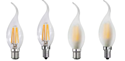 Picture of 4w LED Flame Tip Dimmable Candle Lamps