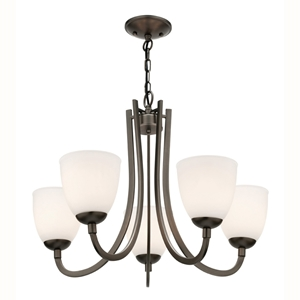 Picture of Audrey 5 Light Pendant (MC8135) Mercator Lighting