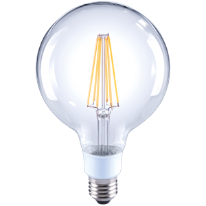 Picture of 7W Dimmable E27 G125 LED Filament Globe (27673) Crompton Lighting