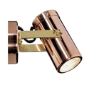 Picture of Exterior 12V Copper Adjustable Wall Spotlight (SM1ACEC ) CLA Lighting