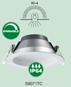 Picture of Premier 10W Dimmable LED Downlight Tri-Color (S9071TC) Sunny Lighting