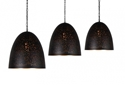 Picture of ACIDO  Matte Black & Copper Pendant V & M Imports