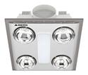 Picture of Cosmo Quattro 12W LED Bathroom Heater (BH014PSW) Mercator Lighting