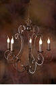 Picture of French Provincial Pendant 5 LT (DO5047/P5) MDA Lighting