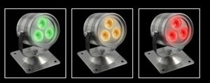 Picture of Fluid Exterior RGB LED Flood Light - IP68 (EVFLUID-RGB) Domus Lighting