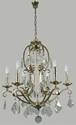 Picture of Angelique 6 Light Crystal Chandelier (Angelique/6Lt) Lighting Inspirations