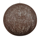 Picture of Hemp Ball Pendant in Chocolate V & M
