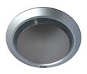 Picture of Gyro Silver Round Bathroom Exhaust Fan (MXFG25S) Martec