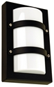 Picture of Trio Small Rectangular Exterior Wall Light (SG70522) Oriel Lighting