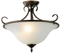 Picture of Gaston Bronze 3 Light Close To Ceiling (OL65733BZ) Oriel Lighting