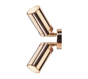 Picture of Pagoda Copper Exterior Double Adjustable Wall Pillar Light (LS321-2A) Lumascape