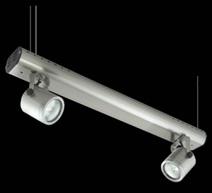 Picture of Barrel 2 Light Wire Suspension Low Voltage Spotlight (LS-3705/2) Domus Lighting