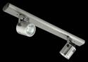 Picture of Barrel 2 Light Bar Low Voltage Spotlight (LV-3704/2B) Domus Lighting