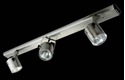 Picture of Barrel 3 Light Bar Low Voltage Spotlight (LV-3704/3B) Domus Lighting