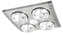 Picture of Tivoly 4 Light 3-IN-1 Bathroom Mate (99960/13) Brilliant Lighting