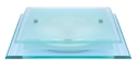 Picture of Luka 2 Light Glass Oyster (80561-Italux) V & M Imports