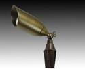 Picture of 12v Shield Solid Brass Spike Spotlight (B-C022) Gentech Lighting
