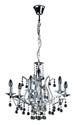 Picture of Mosman 6 Light Crystal Pendnat (H87008-6) Hermosa Lighting