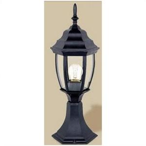 Picture of Bismark Exterior Pillar Mount Light (HB79PM) Hermosa Lighting