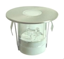 Picture of Brighton 316 Stainless Steel Round Covered LED Deck Light (S215S) Seaside