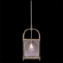 Picture of Elizabeth Cut Glass 1 Light Square Lantern (HLD-GC) Robert Kitto