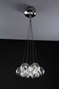 Picture of Champagne 7 Light Cluster Pendant (Champagne-7-Cluster) Fiorentino Lighting