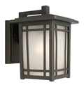 Picture of Sierra Large 1 Light Exterior Wall Light (MX4111L) Mercator Lighting