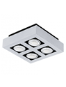 Picture of Loke 1 Surface Mounted 4 Light LED Spotlight (200691) Eglo Lighting