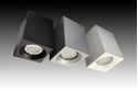 Picture of Cuboid Metal GU10 Surface Mounted Downlight (GU635L) Gentech Lighting