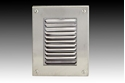 Picture of Exterior Louvred 316 Stainless Steel Wall Light (F205L) Gentech Lighting