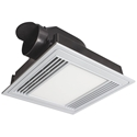 Picture of TERCEL Square Exhaust Fan with 13W LED Light (18192/05) Brilliant Lighting