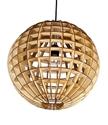 Picture of Ribon 1 Light Wood Veneer Pendant Fiorentino Lighting