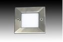 Picture of Bob Square Mini Exterior LED Steplight (LED315) Gentech Lighting