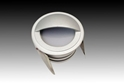 Picture of EX-Wink Exterior Recessed LED Steplight (LED-342) Gentech Lighting