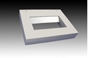 Picture of LED 6W Ribbed Reflector Wall Washer (LED415) Gentech Lighting