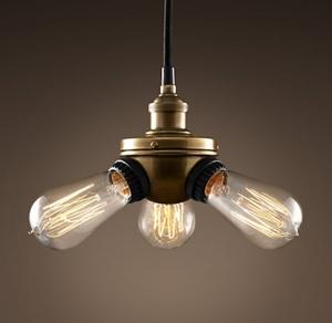 Picture of Brass 3 Light Pendant (Single-3P) Fiorentino Lighting