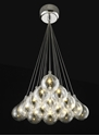 Picture of Grape 15 Light Glass LED Cluster Pendant (Grape-15 Cluster) Fiorentino Lighting
