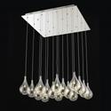 Picture of Grape 16 Light Glass LED Pendant (Grape-16L) Fiorentino Lighting