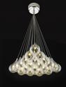 Picture of Grape 21 Light Glass LED Cluster Pendant (Grape-21 Cluster) Fiorentino Lighting