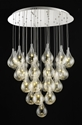 Picture of Grape 36 Light Glass LED Pendant (Grape-36P) Fiorentino Lighting