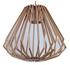 Picture of Ragusa Large 1 Light Wood Veneer Pendant Fiorentino Imports