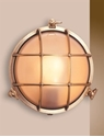 Picture of Eden Large Round Solid Brass Bunker (S2027B) Seaside Lighting