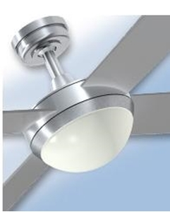"""Picture of Intercept 2 52"""" AC Fan Plywood Blades with 2 x ES Light Hunter Pacific"""