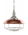 Picture of Factory 1 Light Pendant (Factory) D'EPOCA Lighting